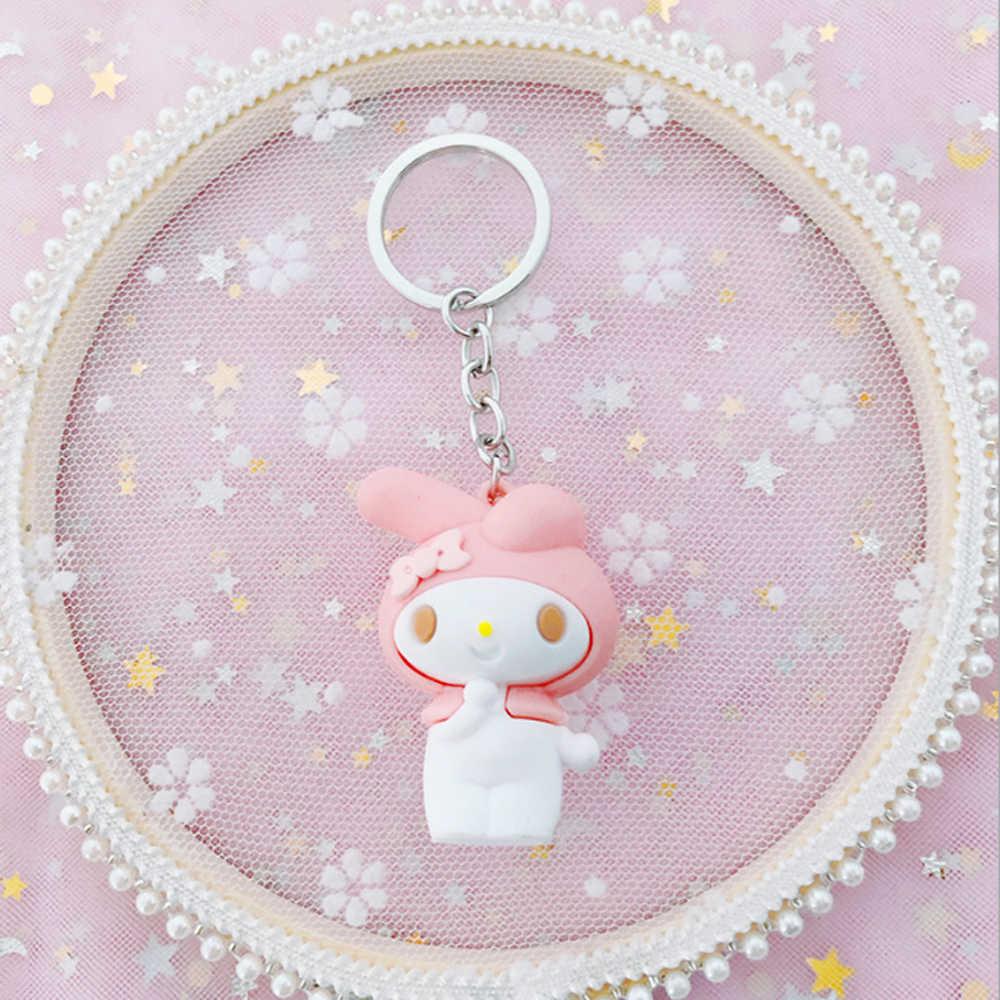 Olá Kitty Bolsa Charme Chave Anéis Chaveiros chaveiro Gato Bonito Dos Desenhos Animados Crianças Brinquedo Pingente Chaveiro llaveros lo mas vendido 2019
