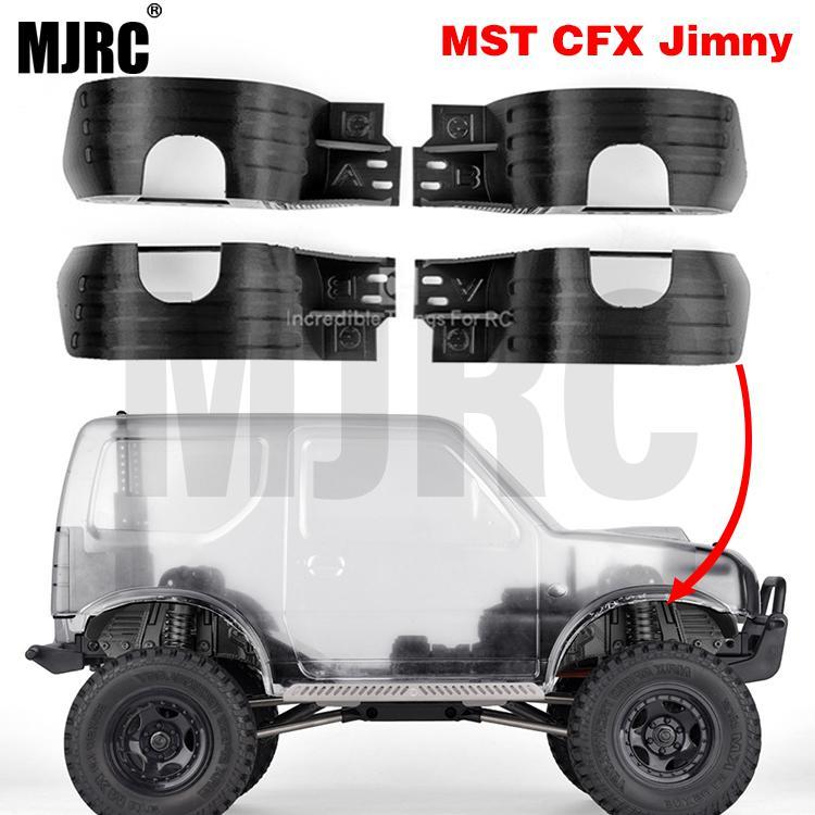 leve modelo de carro paralama fender carro exterior proteger decoracao para jimny mst cfx rc acessorios