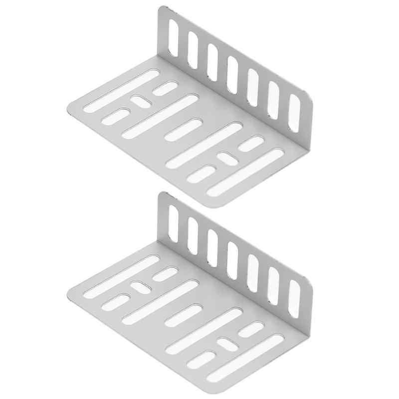 2 uds soporte MP5 estéreo para coche arandela de soporte + juego de tornillos Radio Fascia marco Panel para 2 Din doble automotriz DVD/CD reproductores plata