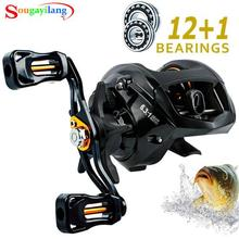 Lieyuwang  11+1BB 6.3:1 baitcasting Fishing reels Carretilha de pesca Abu garcia low profile reel bait casting Fishing reel