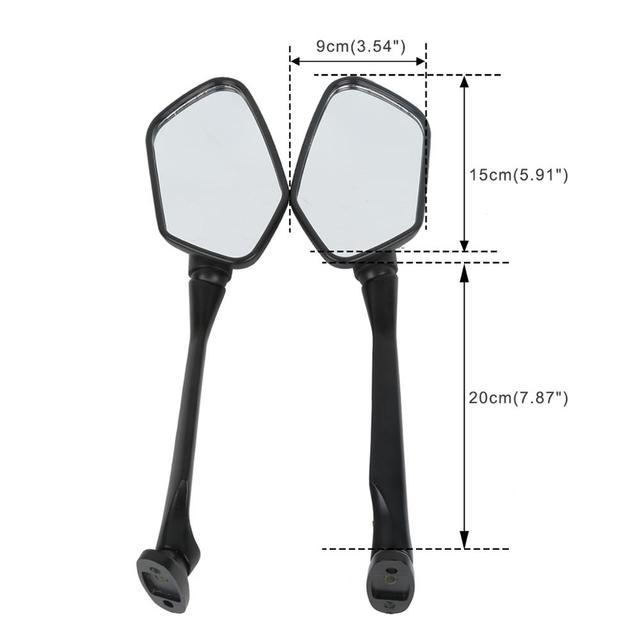 Motorcycle Rear View Mirrors For Honda CBR250R CBR 250 R 2011-2012 CBR300R 2015-2018 2017 2016