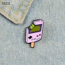 Xedz популярный новый мобильный телефон с фиолетовым мороженым