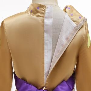 Image 5 - 2020 חג המולד קפוא 2 מלכת אנה שמלת קוספליי תלבושות עבור ילד בנות מסיבת נסיכת Vestidos ילד בגדי שמלת 3 12 שנה