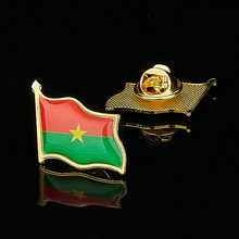 Африканская страна буркина faso эпоксидная многоцветная флаг