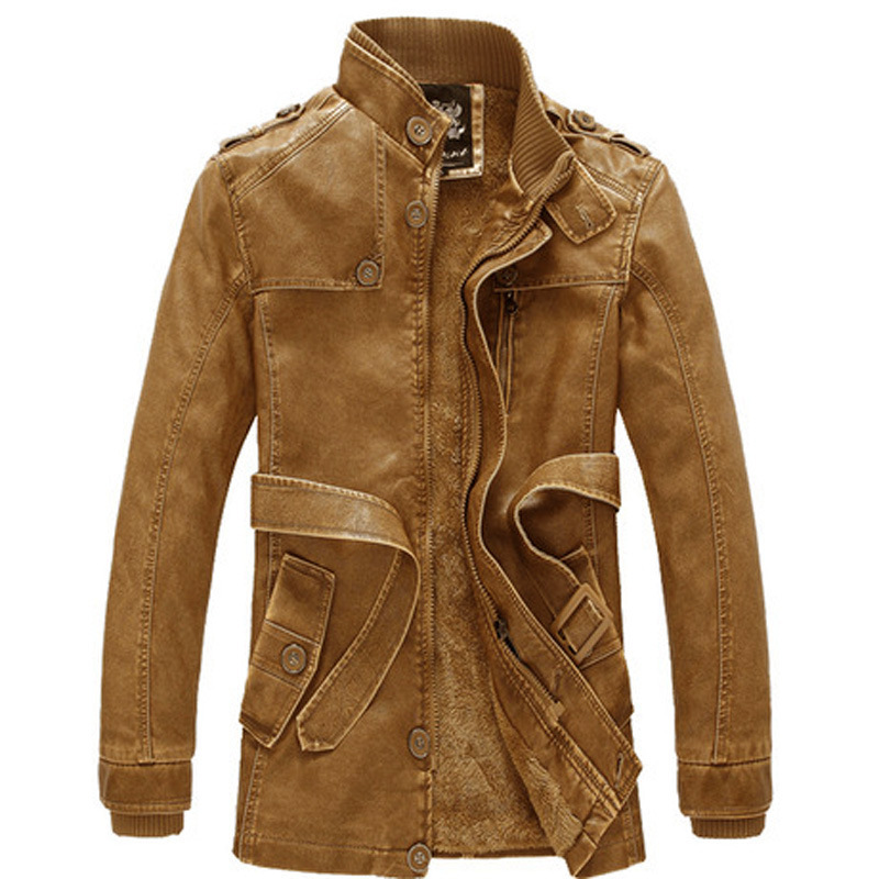 Men Jacket Locomotive Europe And America Cool Fashion Men PU Leather AliExpress Supply Of Goods