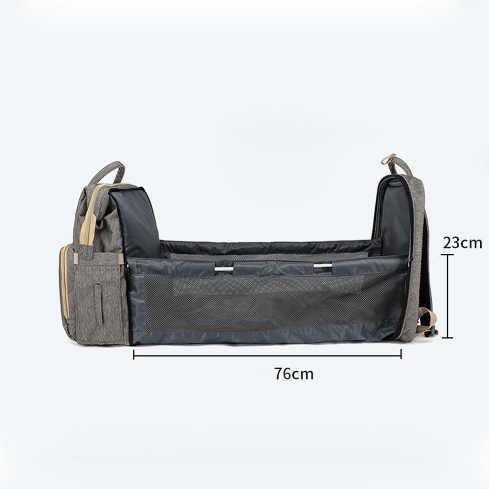 Diaper Bag Moms and Dads Backpack Multifunctional Baby Bed Bags Maternity Nursing Handbag Portable Stroller Travel mummy Bag