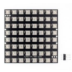 Image 3 - 10 stücke WS2812 LED 5050 RGB 8x8 64 LED מטריקס