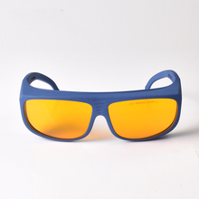 CE Laser Safety Glasses for 190-490nm O.D 6+ 4+ 266nm 445nm 405nm 473nm Lasers