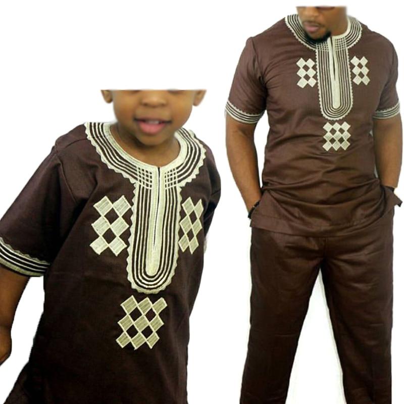 Dashiki-parent-enfant-ensemble-2019-africain-enfants-v-tements-africains-hommes-dashiki-v-tements-bazin-riche