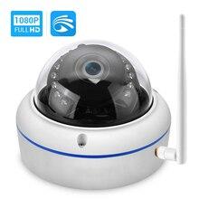 Hamrolte yoosee câmera wi fi hd1080p onvif, com fio, sem fio, visão noturna, à prova d água, wifi, câmera externa
