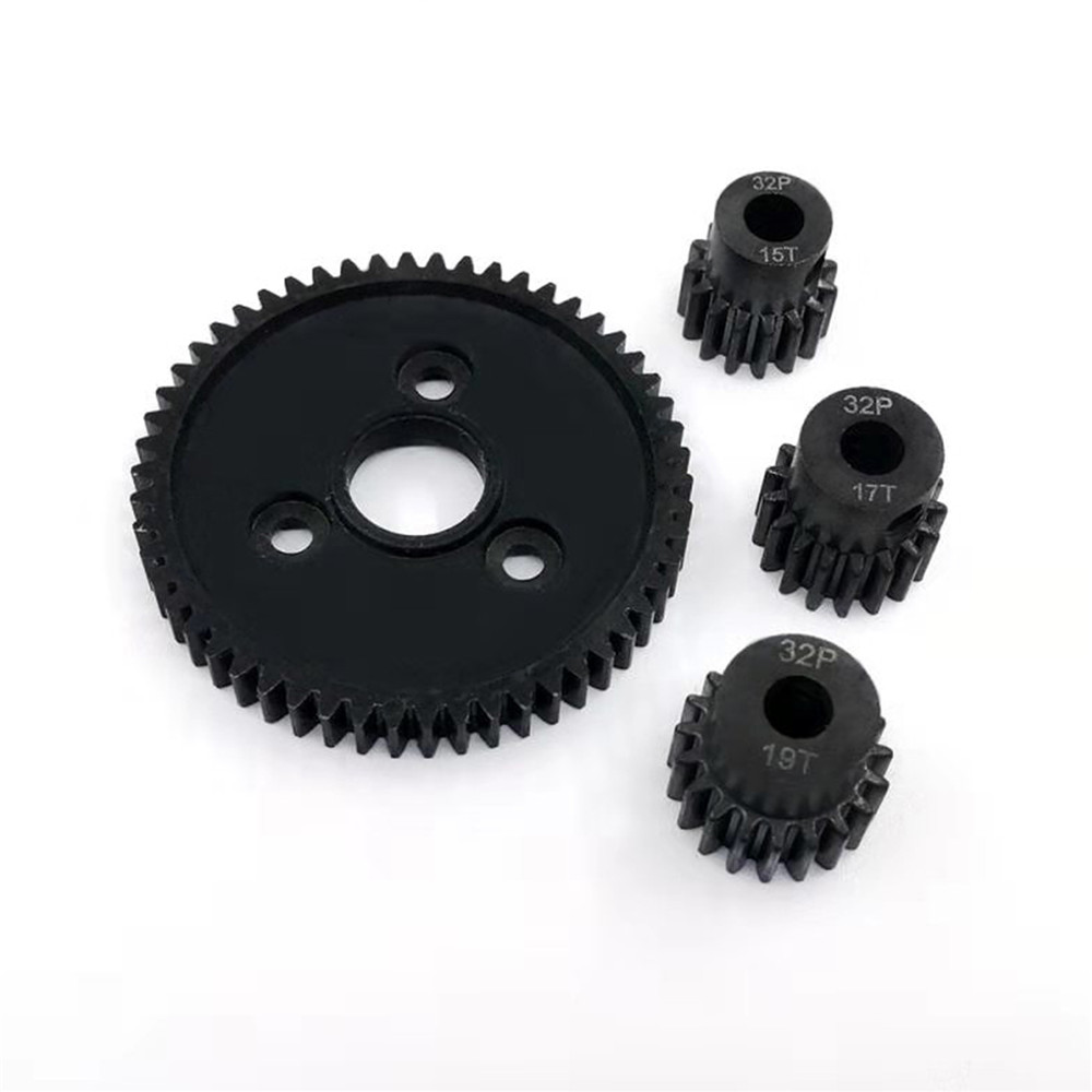 540 55T Brushed Motor 48DP 3.175mm 16T-20T Pinion Motor Gears for 1//10 RC Rock Crawler Car SCX10 4WD