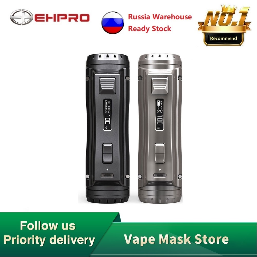Original Ehpro Cold Steel 100 120W TC Box MOD With 0.0018S Ultrafast Firing Speed & Online Software Update Vs OBS Cube /Drag 2