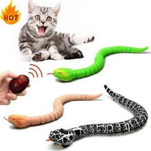 Kids Toys Remote-Control Snake Animal-Trick Terrifying And Gift No Mischief Cat Funny