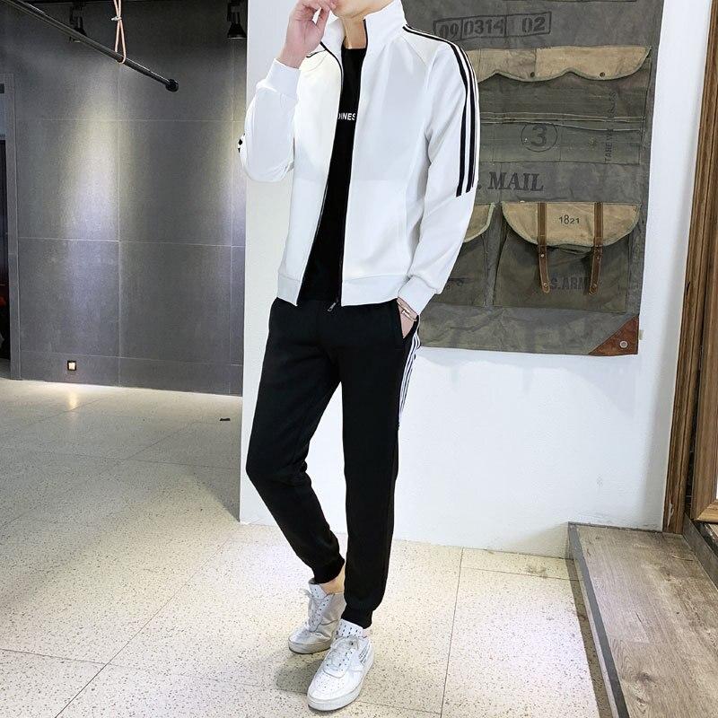 Hoodie Men's Hooded Long-sleeve Suit Spring And Autumn Cardigan Teenager Students MEN'S Sportswear Korean-style Slim Fit Coat