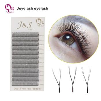 [Jeyelash eyelash] 5 Cases Premium YY Lashes False Mink  Y-shape Eyelashes  Extension 0.07mm Mesh Net Cross  Makeup Tool