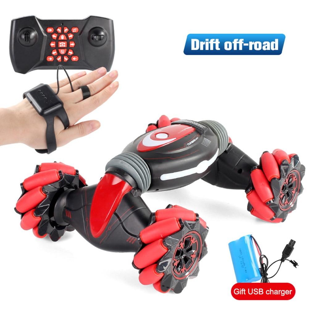 Stunt RC Car Gesture Sensing Twisting Vehicle Drift Car Driving Kids Toy Christmas Gifts M09