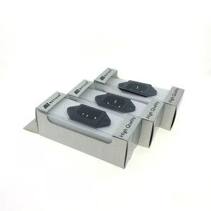 Image 2 - MATIHUR 24K AC IEC Inlet Gold Plated Socket Audio Grade RATING:15A/250