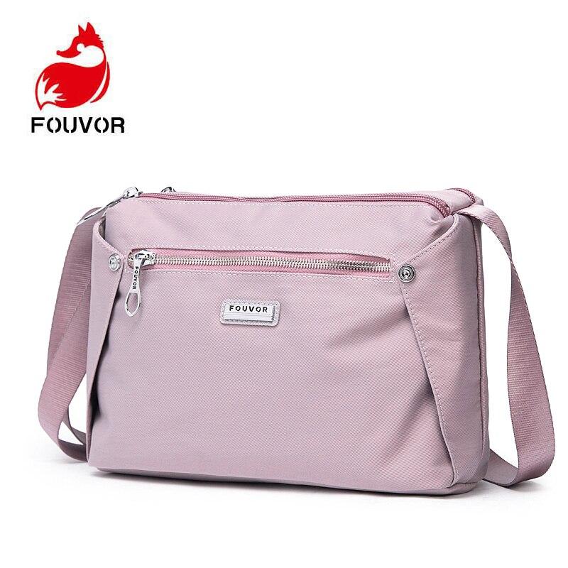 Fouvor New Black Small Women Messenger Bag Women's Bag 2019 Ladies Bolsa Feminina Crossbody Bag Casual Female Handbag Purses