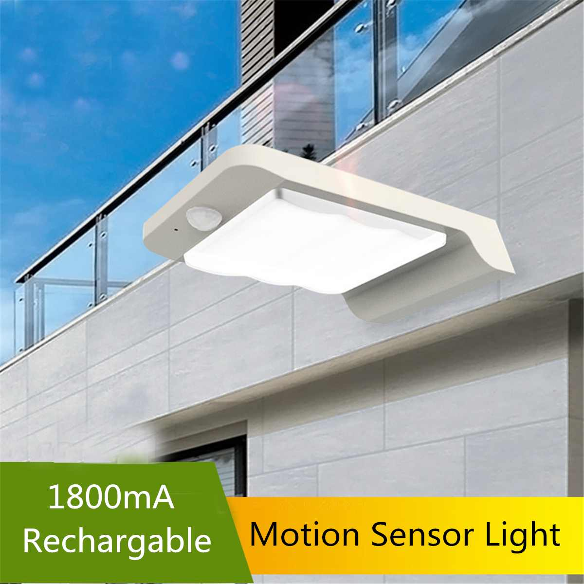 Solar Solar Lamp 32 Led Light 200lm PIR Angle-Motion Sensor  Wall Lights Pathway Waterproof Outdoor Garden Street Lamps