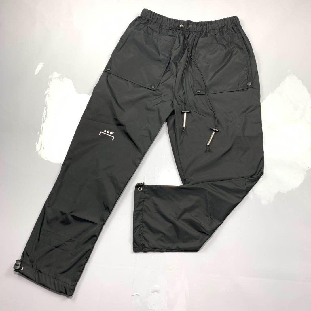 2019 a-cold-Wall ACW hommes Logo imprimer pantalons de survêtement pantalons de survêtement Hiphop Streetwear ACW hommes pantalons en tissu imperméable pantalons