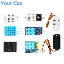 Módulo digital do sensor de temperatura e umidade dht11 dht22 am2302b am2301 am2320 am2302 hs1101 hr202 sensor para arduino