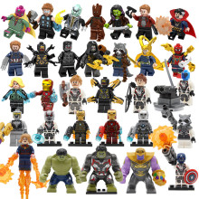 Marvel Avengers 4 Endgame Thanos Captain America Super Heroes Figures Iron Man Black Widow Building Blocks Toys Gifts Legoing
