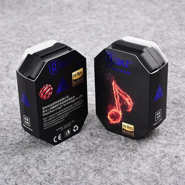 QKZ AK6 3.5mm Wired Headphones Copper Driver Stereo HiFi Earphone Bass Earbuds Music Running Sport Headsets Games Earphones 6