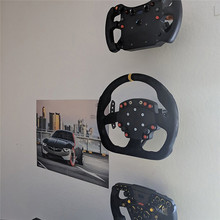 Suporte de montagem na parede suporte extrudate com parafusos para fanatec volante fixação suportes acessórios