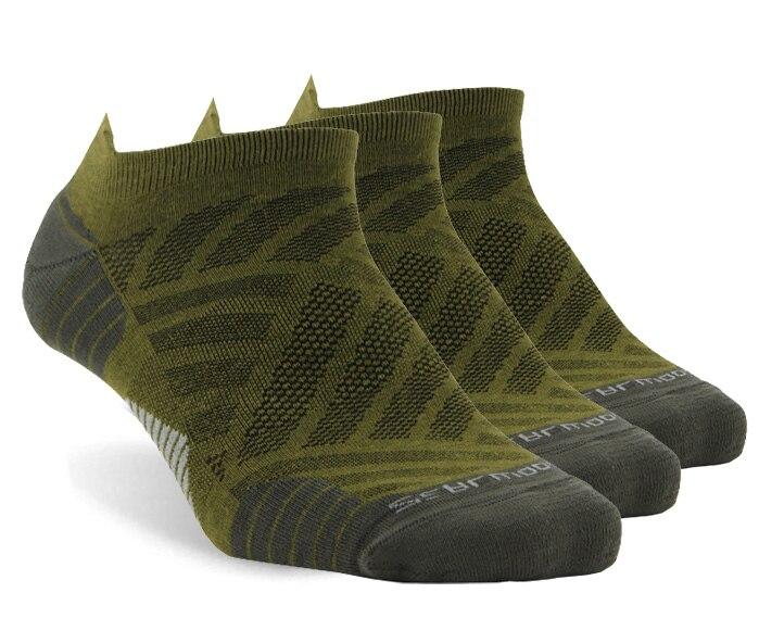 3 pair green