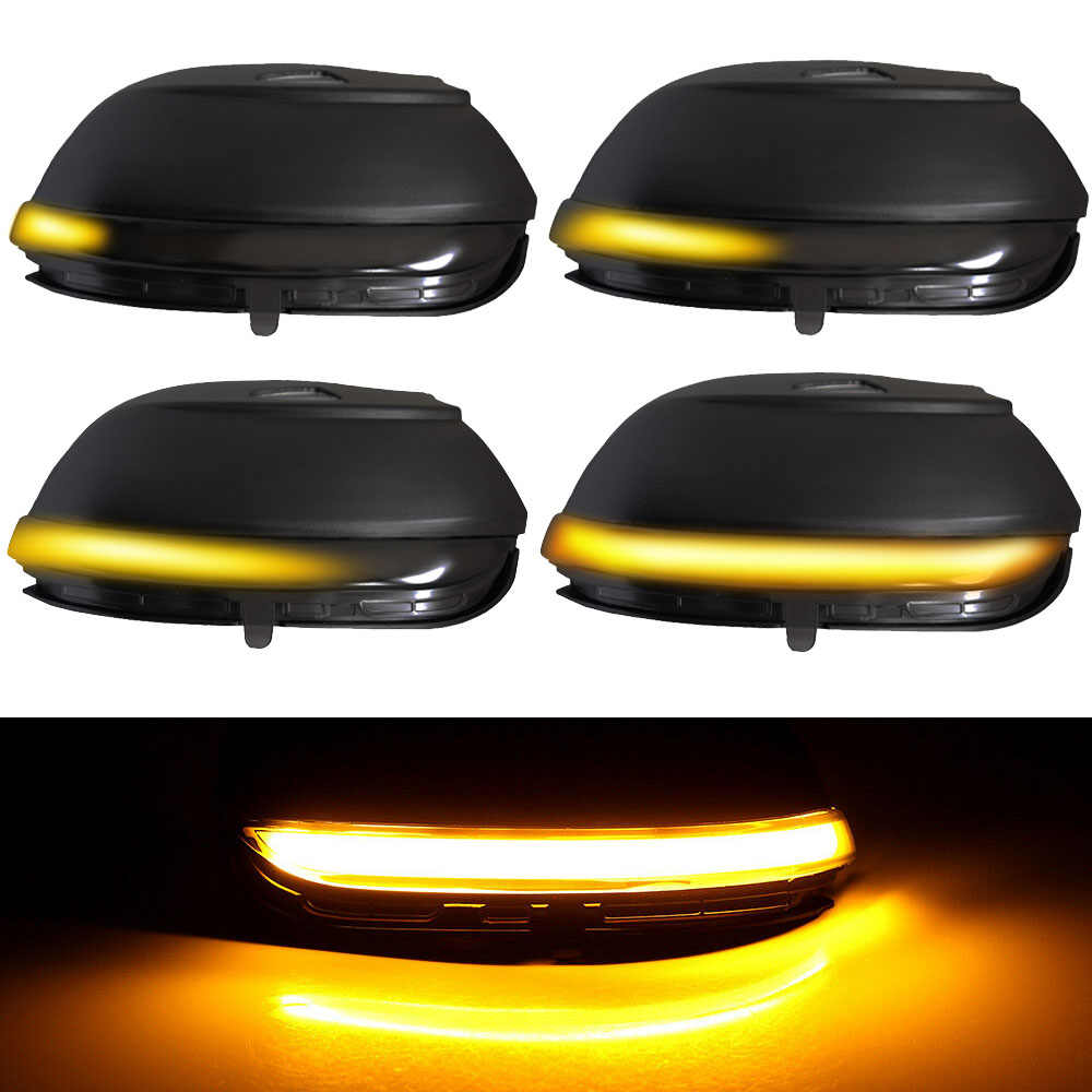 Turn signal drl For VW Passat CC B7 Beetle Scirocco Jetta MK6 Rear View Mirror Indicator LED Side Wing Dynamic Turn Signal Light