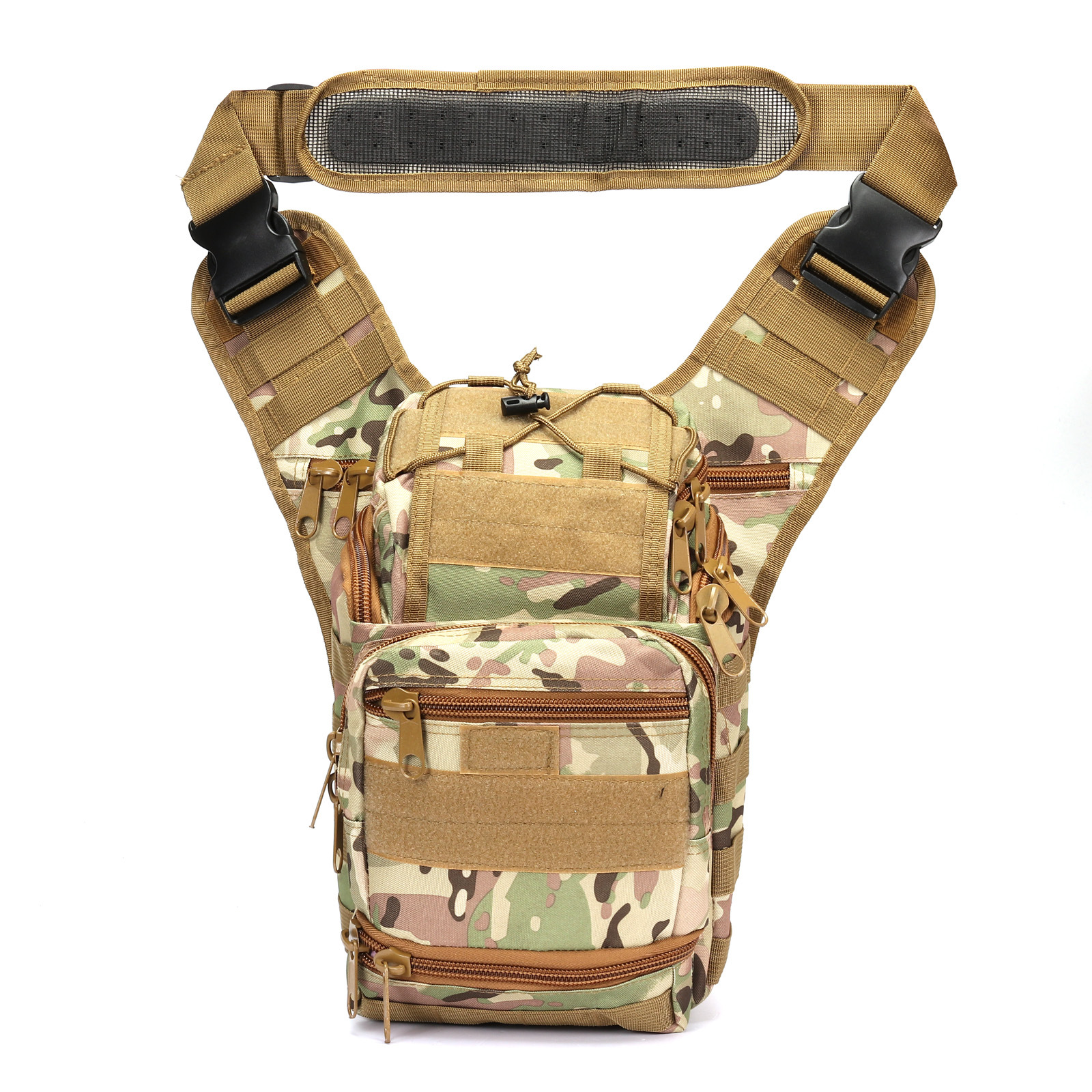 Outdoor Army Fans Tactical Mantis Moth Saddle Bag Alforja Men Outdoor Riding Shoulder Bag Camera Bag Outdoor Mountaineering Bag