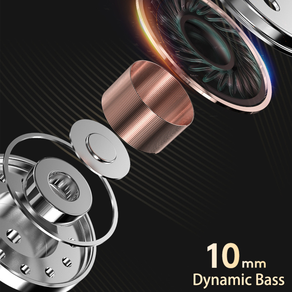 Căști cu fir AZiMiYO HK1 3.5mm hibride HiFi DJ căști stereo - Audio și video portabile - Fotografie 4