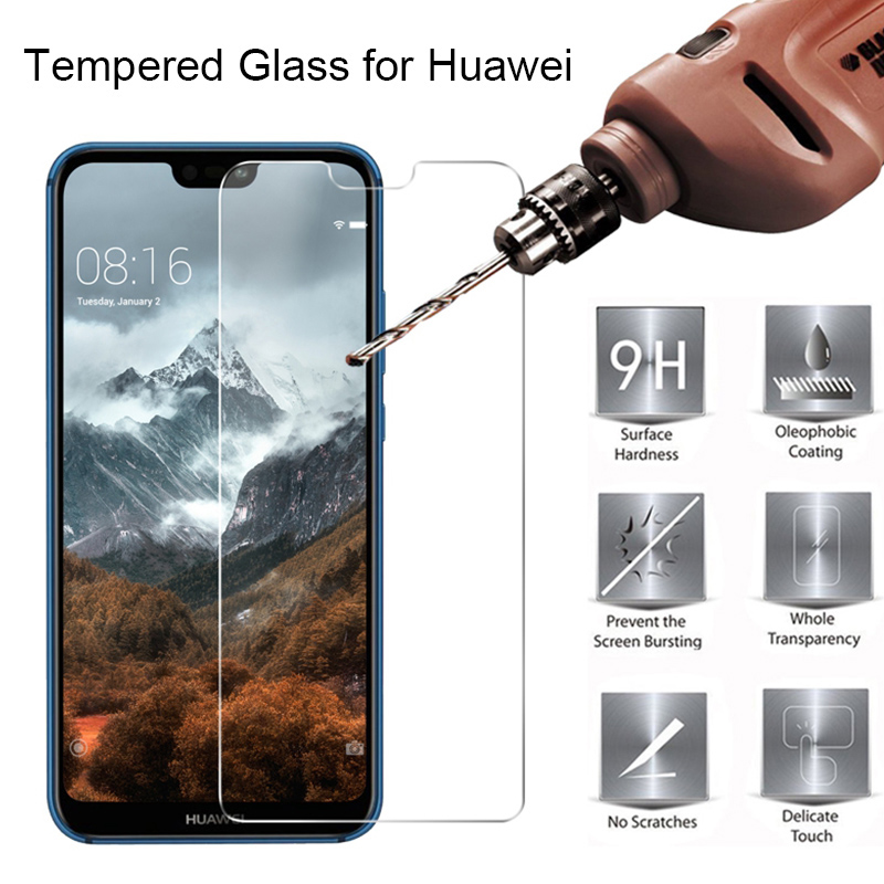 Protective Glass For Huawei P30 P20 Pro Screen Protector On Huawei P Smart 2019 Tempered Glass For Huawei P30 Lite P20Lite P 20