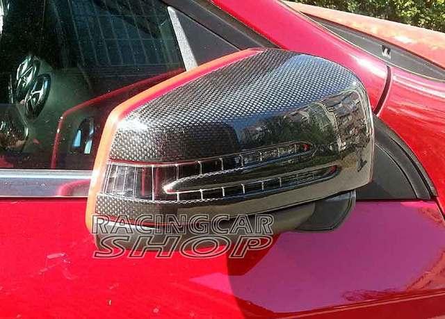 REAL CARBON FIBER MIRROR COVER FOR Benz W176 A-Class A250 A176 A180 A250 A200 A45 1PAIR 2013up M095M 1