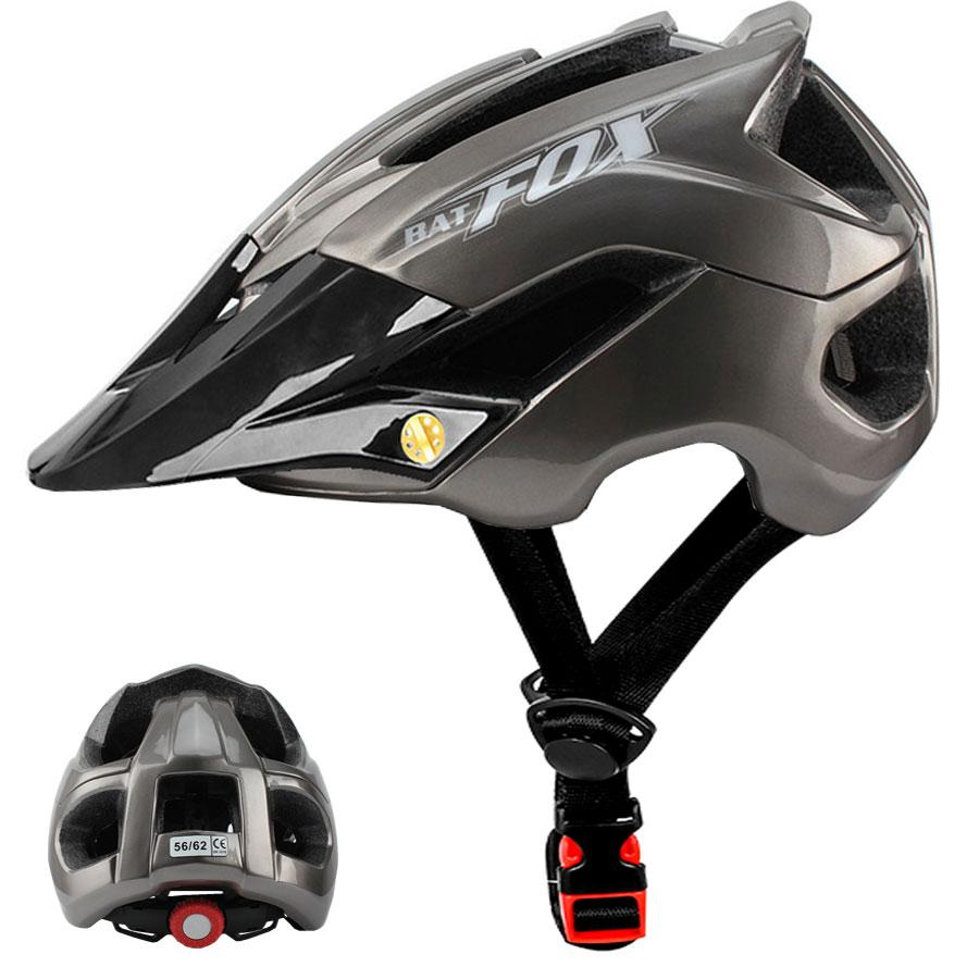 BATFOX NEW Men's Cycling Helmets Bicycle Helmet MTB Mountain Road Bike Helmet casco Capacete Da Bicicleta Helmets L/xl 56-62cm