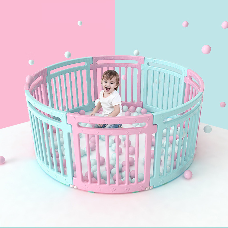 Indoor Baby Playpens Outdoor Games Fencing Children Play Fence Kids Activity Gear Environmental Protection Safety Guardrail Yard