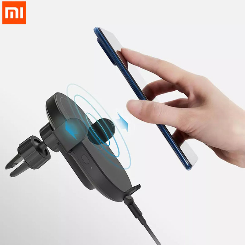 Xiaomi Mi WCJ03ZM 10W Qi Car Wireless Charger with Intelligent Infrared Sensor Fast Charging Car Phone Holder| | - AliExpress