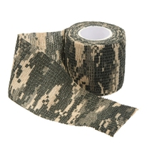 Outdoor Cycling Camo Wrap Gun Hunting Camouflage Stealth Tape Camo 3 outdoor retractable camouflage tape camo self adhesive non woven fabric wrap desert camo