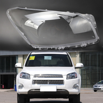 2 pcs for Toyota RAV4 2009-2012 lens lampshade Headlight headlight cover Lens lamp transparent housing Front headlight housing