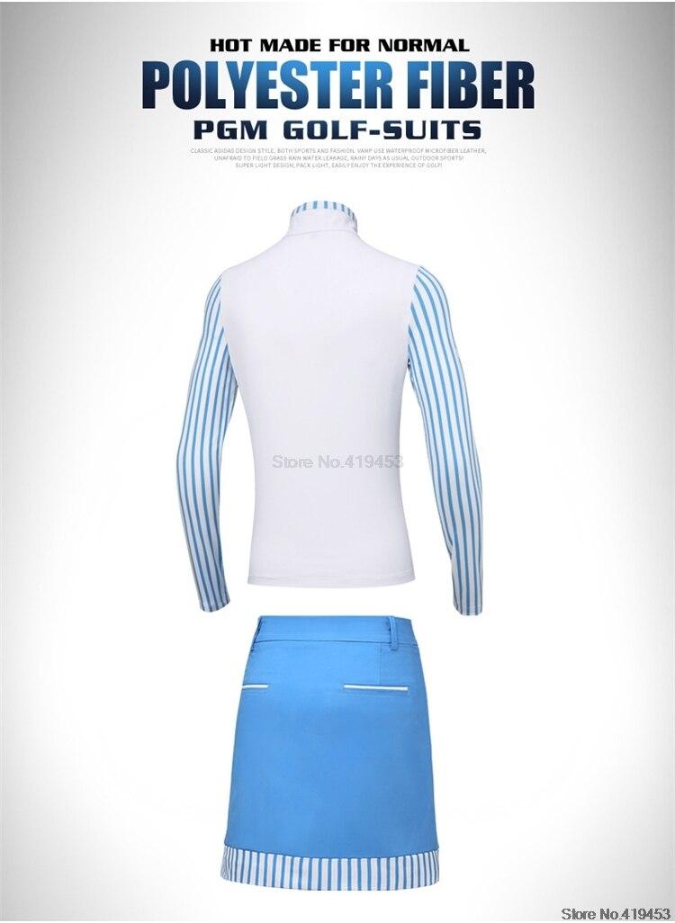 Golfe feminino verão conjunto camisa de manga