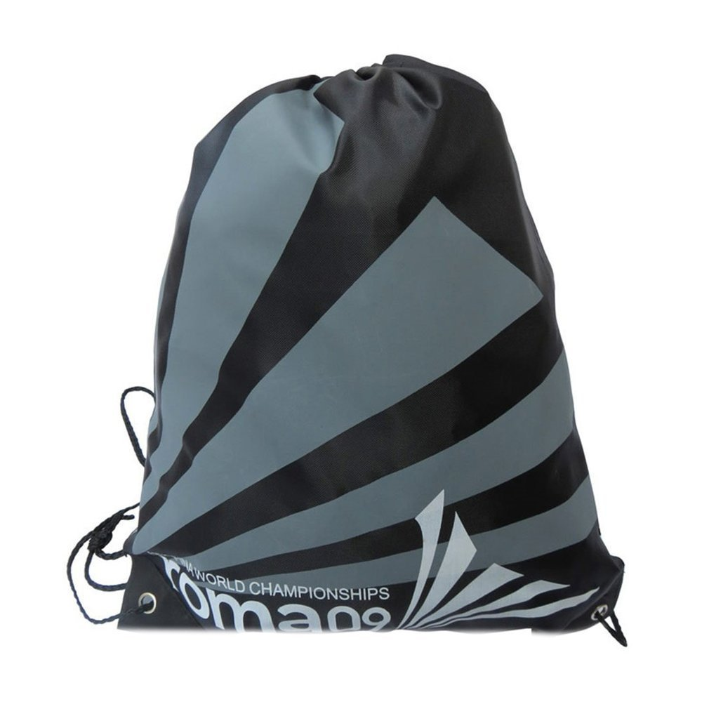 Top Quality Double Layer Drawstring Gym Backpacks Swimming Sports Beach Bag Travel Portable Fold Mini Shoulder Bags