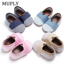 Emmababy Soft Shoes Sole Crib Shoes Infant Toddler Baby