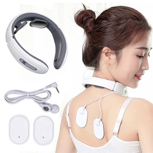 Masseur électrique pour dos et cou, thérapie magnétique à impulsions cervicales, chauffage à infrarouge lointain, soulagement de la douleur, Relaxation, soins de santé