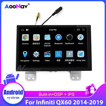 Car Radio Multimedia Player Gps Navigation System For Infiniti Qx60 2014 2015 2016 2017 2018 2019 Car Auto Stereo Touch Screen image