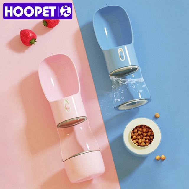 HOOPET ❤ Pets Alpha Pets Best Friend Dog Water Bottle Feeder Combo (っ^▿^) 1