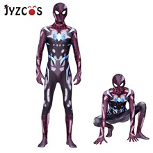 JYZCOS Marvel PS4 Secret War Spiderman Halloween Cosplay Costume Spider Man Suit Spider-man Costumes Adult Children Kids