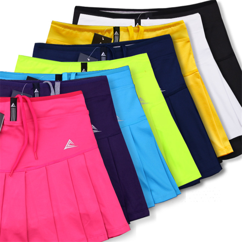 Shorts-saias de tênis