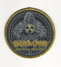 Woven label patch Embroidered patch patch Personalized customization service Products :gold line