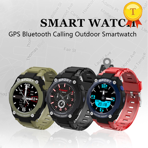 Image 4 - best selling GPS Smart Watch Men Heart Rate Monitor Blood Pressure TF Card Music mp3 Play Compass Barometer Smartwatch man woman