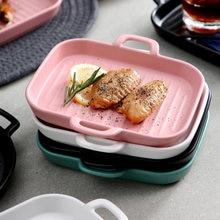 Большой прямоугольный для выпечки Посуда духовка керамическая